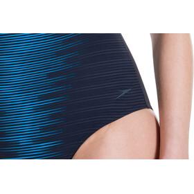 speedo AuraGleam - Bañador Mujer - azul